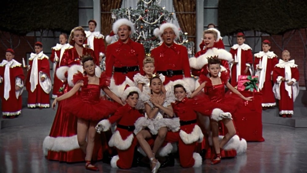 Bing Crosby, Danny Kaye, Rosemary Clooney, and Vera Ellen star in 'White