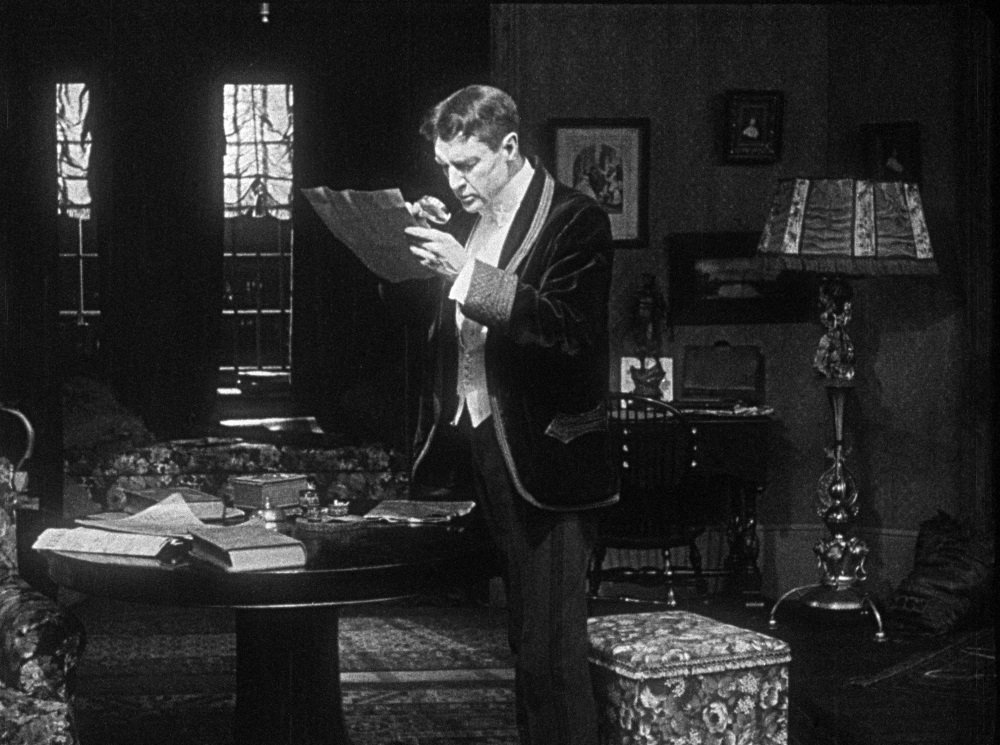William Gillette is the original 'Sherlock Holmes' in the 1916 feature film
