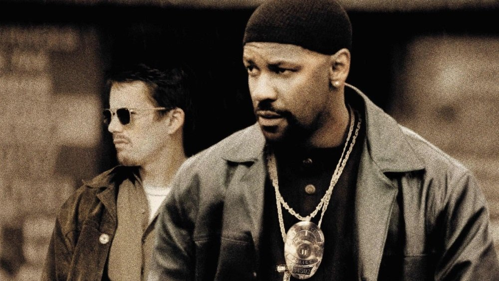 Ethan Hawke and Denzel Washington in 'Training Day,' directed by Antoine Fuqua