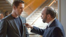 Damian Lewis and Paul Giamatti in 'Billions,' a new Showtime original series