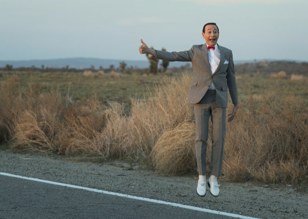 Paul Reubens is Pee-wee Herman in 'Pee-wee's Big Holiday.' Coming to Netflix.
