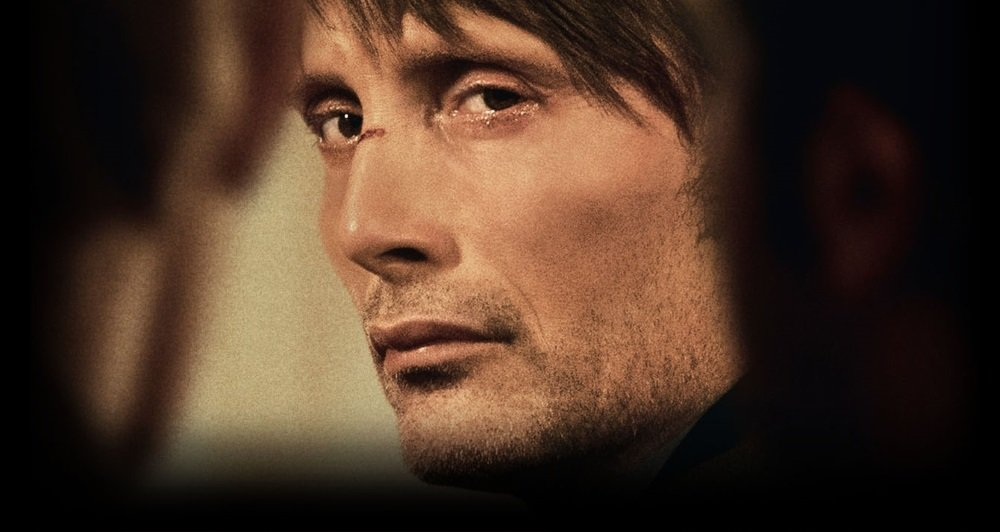 Mads Mikkelsen in Thomas Vinterberg's 'The Hunt,' a searing drama of hysteria in a small community.