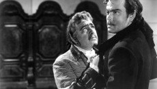 Akim Tamiroff and Orson Welles in the 1948 'Black Magic.'