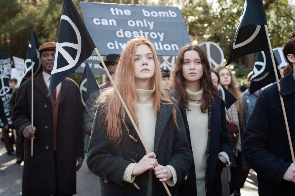 Elle Fanning and Alice Englert star in 'Ginger and Rosa,' a touching coming of age drama set in the turbulent early 1960s and directed by Sally Potter
