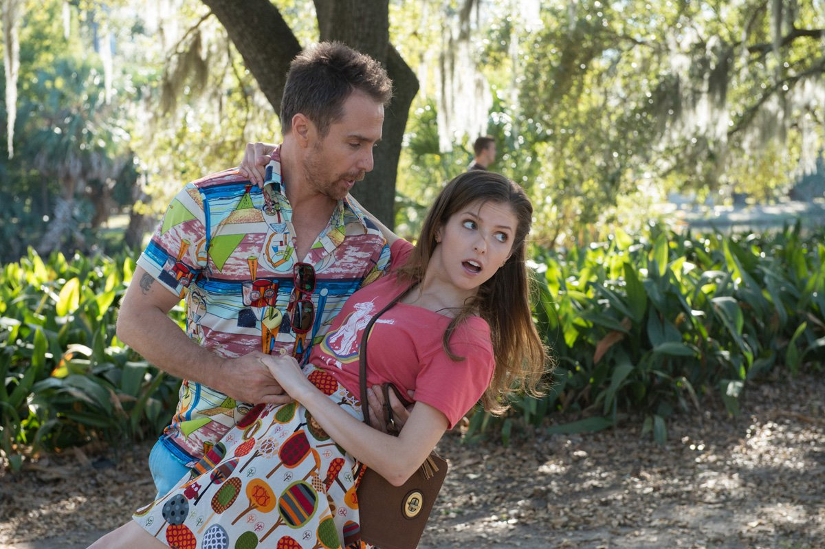Sam Rockwell and Anna Kendrick in 'Mr. Right,' directed by Paco Cabezas