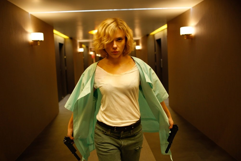 Scarlett Johansson is 'Lucy' in Luc Besson's marvelously ridiculous action fantasy