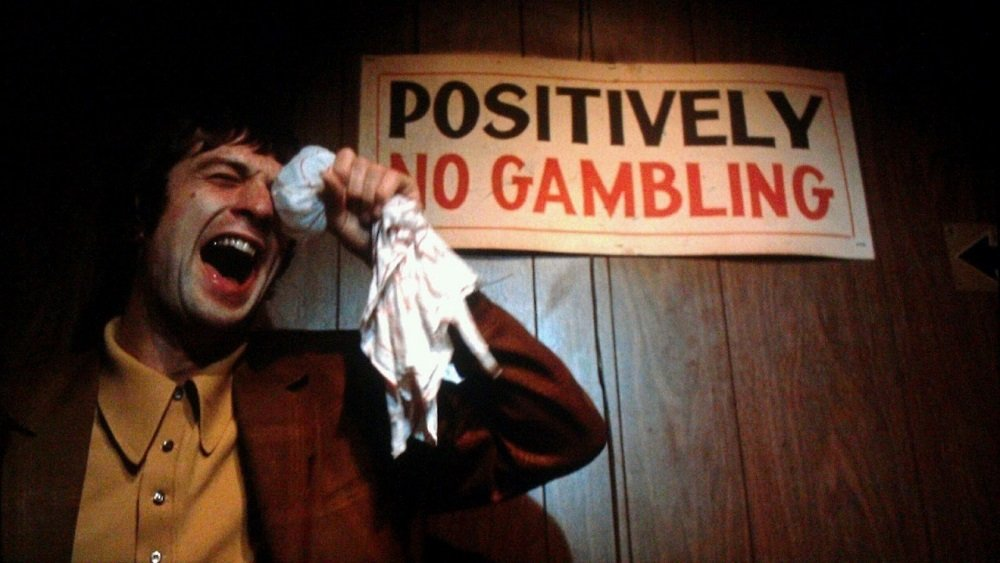 Robert De Niro in Martin Scorsese's 'Mean Streets,' starring Harvey Keitel, Amy Robinson, and David Proval.