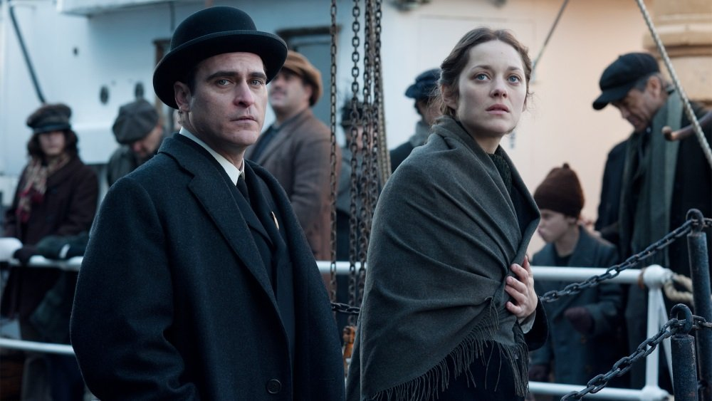 Joaquin Phoenix and Marion Cotillard in 'The Immigrant,' directed by James Gray.