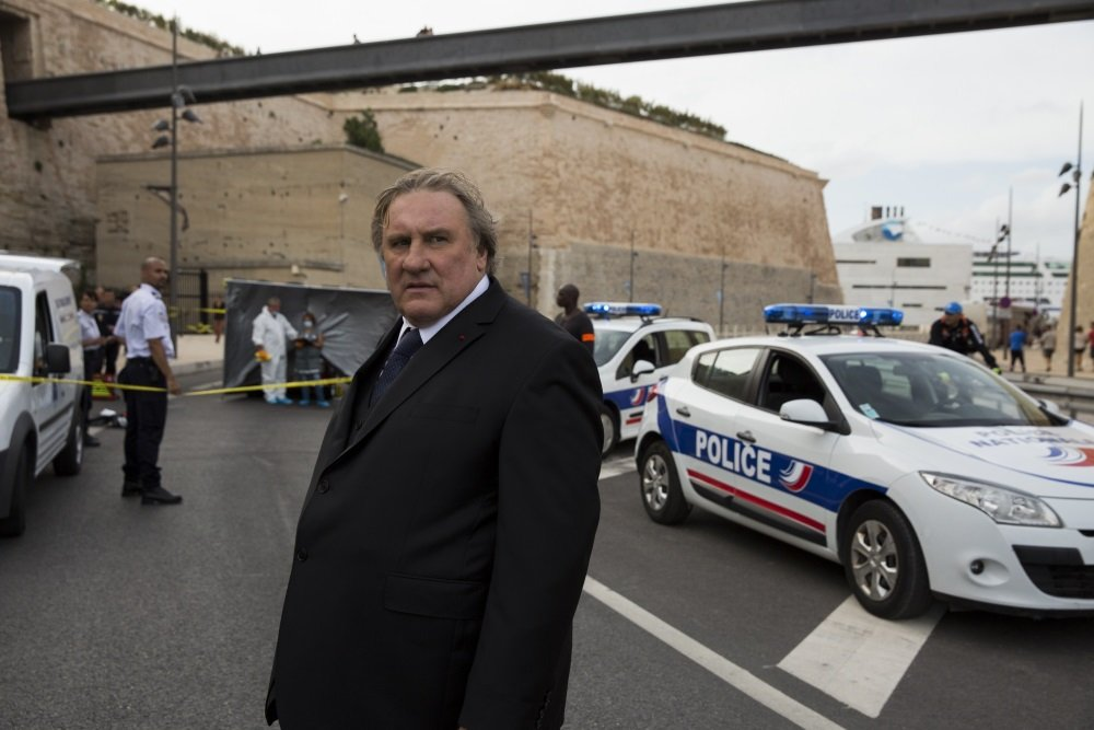 Gerard Depardieu stars in the Netflix original series 'Marseille.'