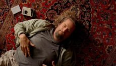 Jeff Bridges is the Dude in 'The Big Lebowski' from Joel and Ethan Coen.