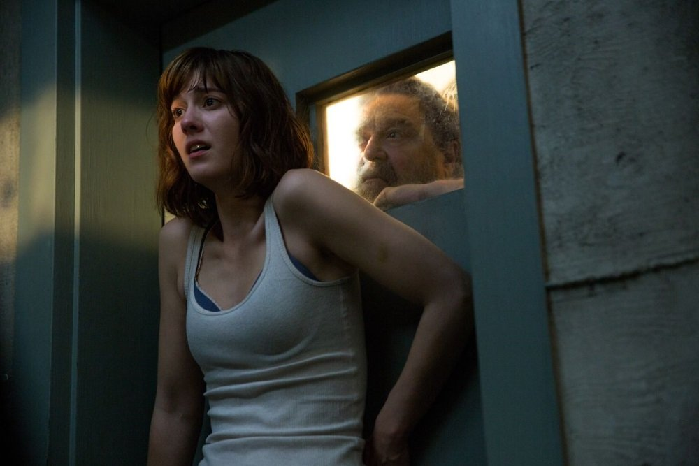 Mary Elizabeth Winstead and John Goodman in '10 Cloverfield Lane'