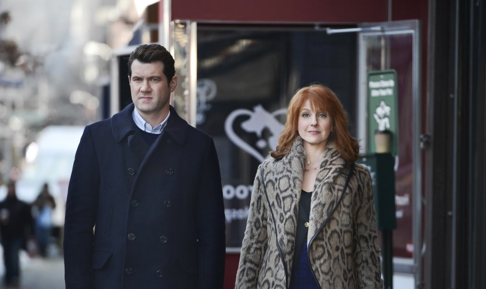 Billy Eichner and Julie Klausner in the Hulu original series 'Difficult People'