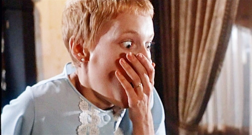Mia Farrow in Roman Polanski's 'Rosemary's Baby'