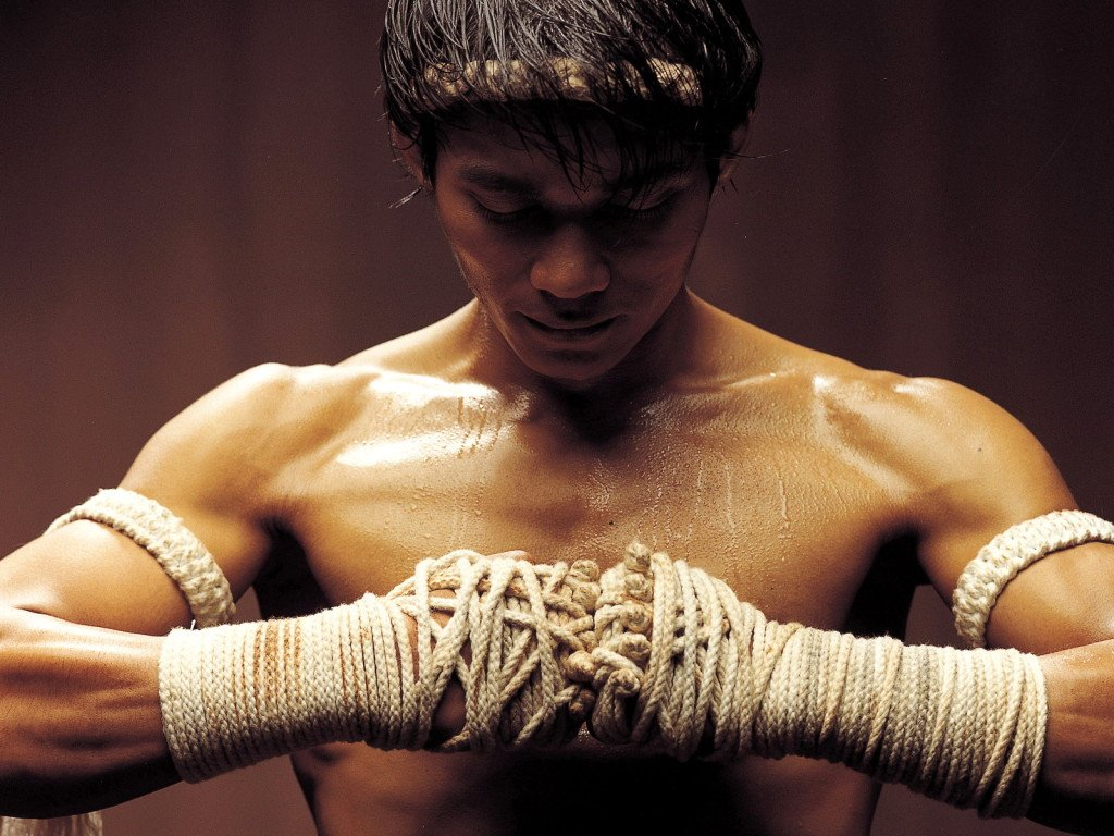 Tony Jaa in 'Ong Bak: The Thai Warrior'