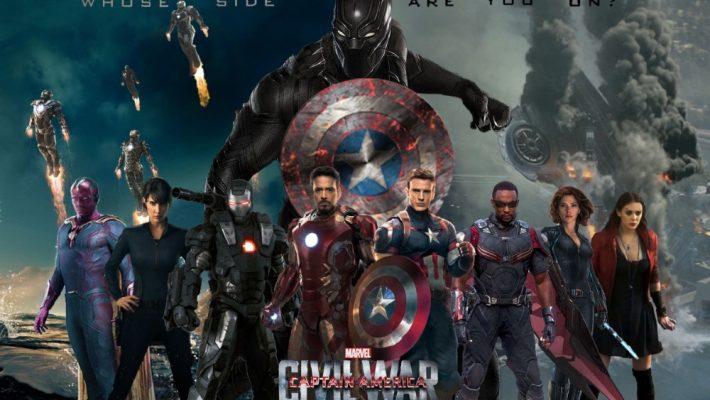 "Robert Downey Jr. and Chris Evans picks sides in ""Captain America: Civil War."""