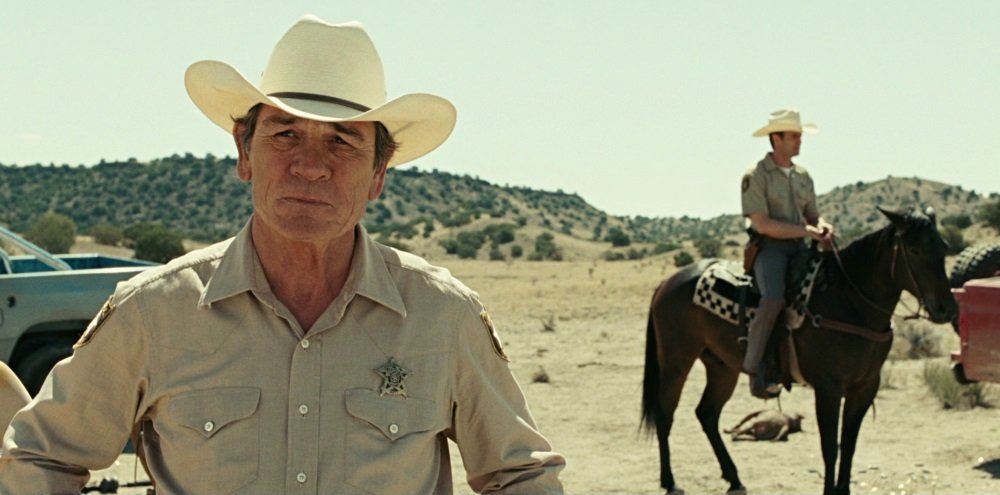 Tommy Lee Jones in the Coen Bros.'s Oscar-winning 'No Country for Old Men'