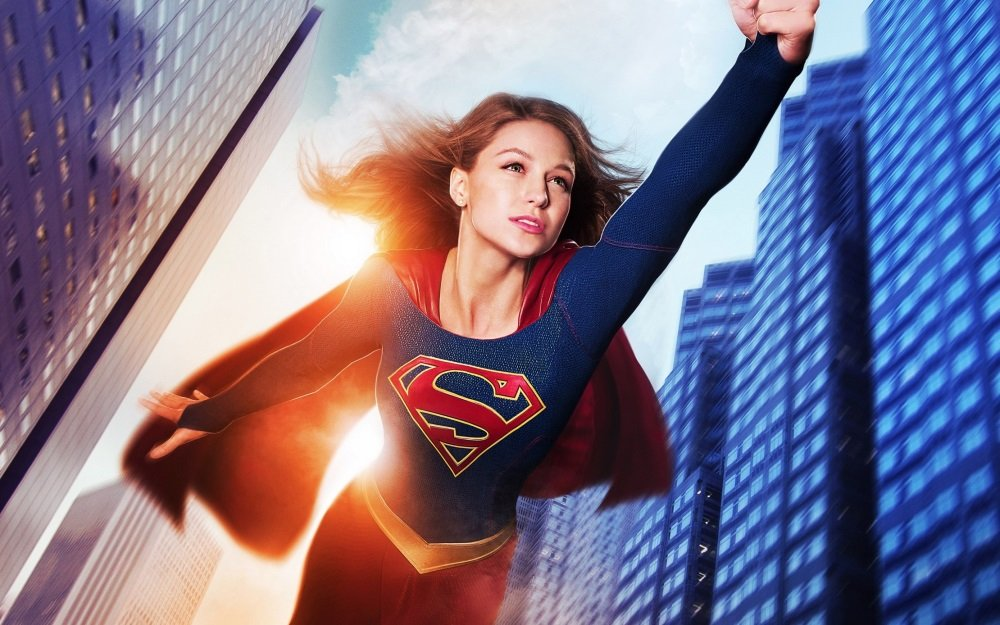 Melissa Benoist is 'Supergirl' in the CBS TV series