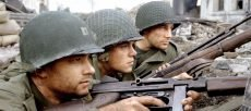 Tom Hanks and Matt Damon in Steven Spielberg's 'Saving Private Ryan'