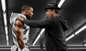 Michael B. Jordan and Sylvester Stallone in 'Creed.'