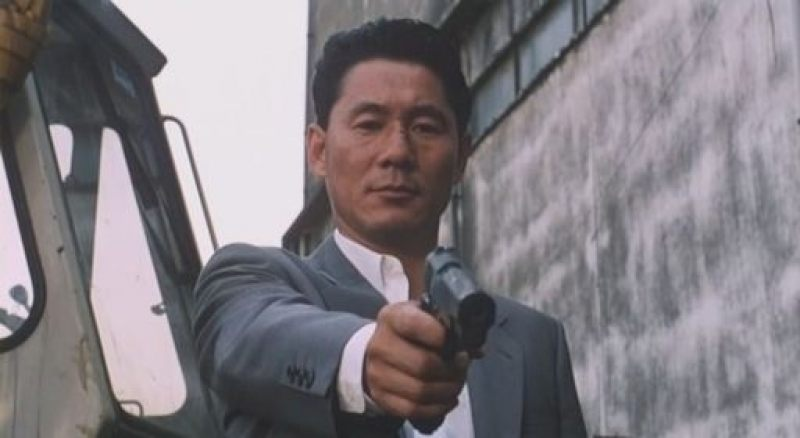 "Takeshi Kitano directs and stars in ""Violent Cop"""