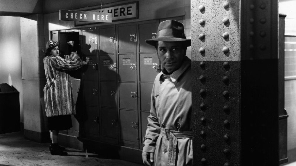 Richard Conte and Hope Emerson in Robert Siodmak's 'Cry of the City'