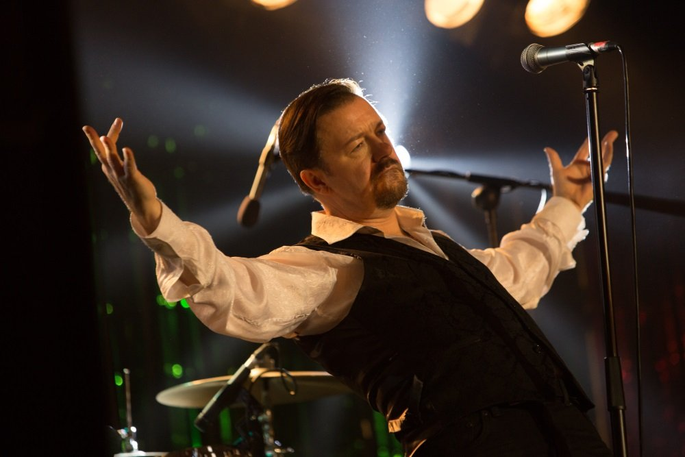 Ricky Gervais is David Brent