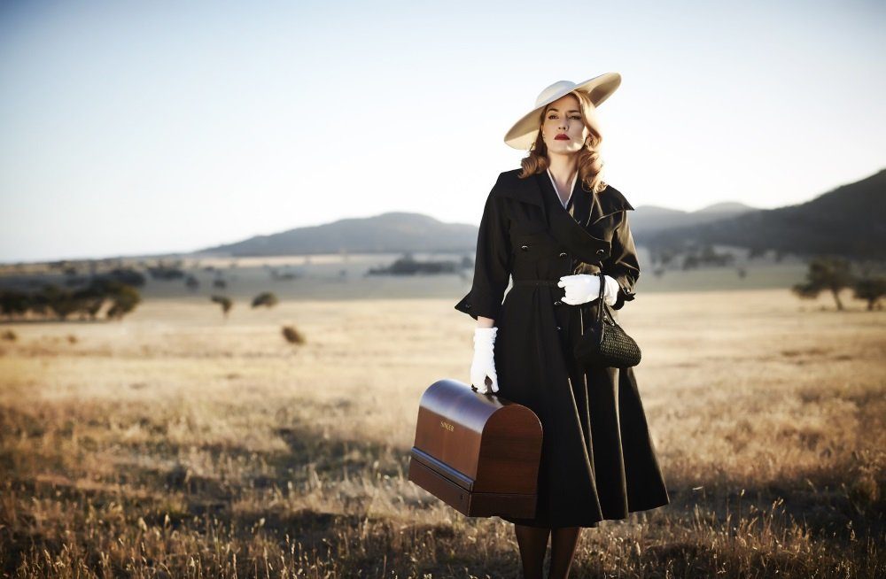 Kate Winslet stars in 'The Dressmaker,' directed by Jocelyn Moorhouse and co-starring Judy Davis, Liam Hemsworth, and Hugo Weaving
