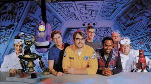 The Netflix reboot of MST3K from creator Joel Hodgson stars Jonah Ray, Felicia Day, and Patton Oswalt