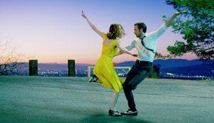"""Emma Stone and Ryan Gosling in Damien Chazelle's Oscar-winning musical """"La La Land."""""""
