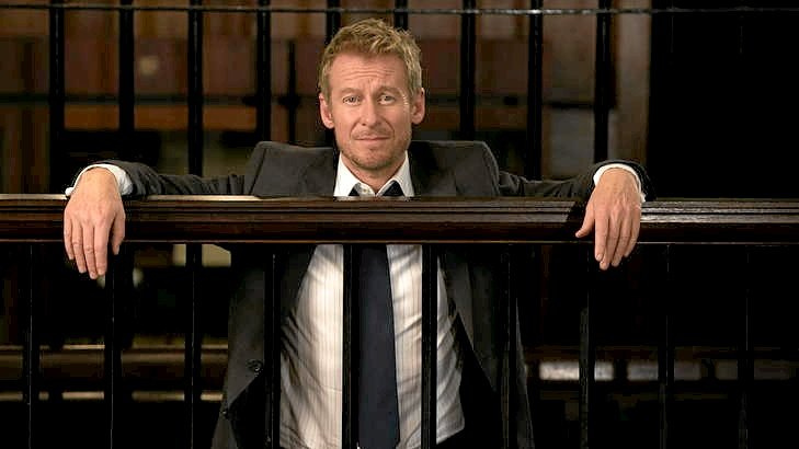 Richard Roxburgh is Cleaver Greene in Rake.