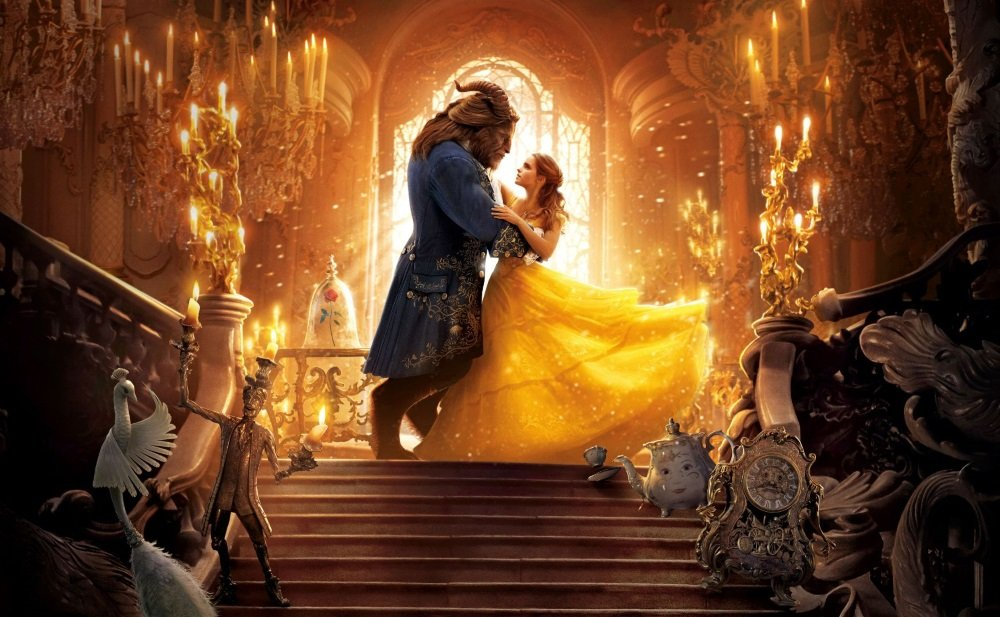 "Emma Watson and Dan Stevens in Disney's ""Beauty and the Beast."""