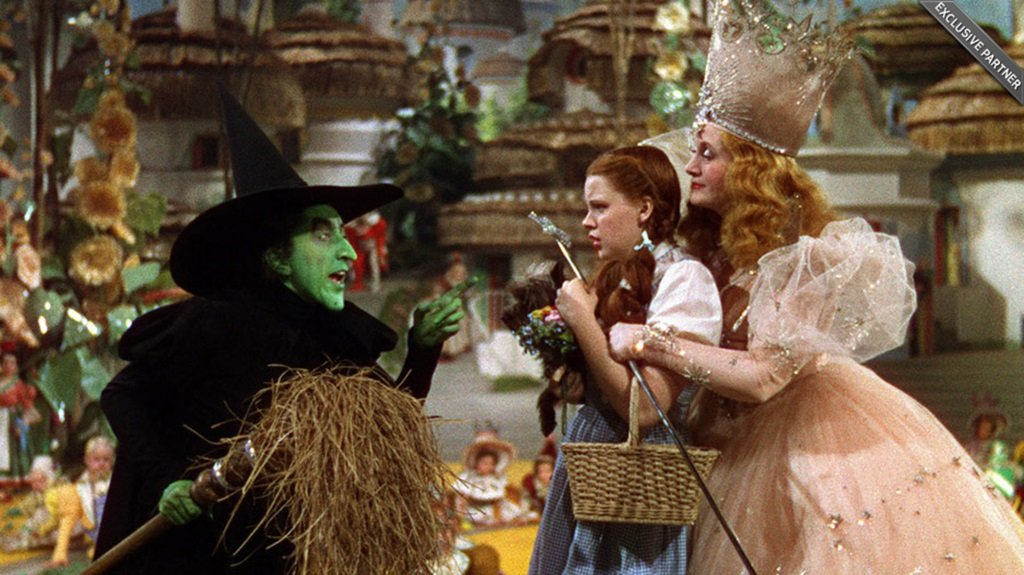Judy Garland is Dorothy Gale in the beloved screen adaptation of Frank L. Baum's fantasy