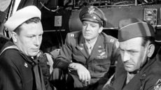 Harold Russell, Dana Andrews, and Fredric March in William Wyler's 1946 drama
