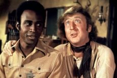 Cleavon Little and Gene Wilder in the classic Mel Brooks comedy