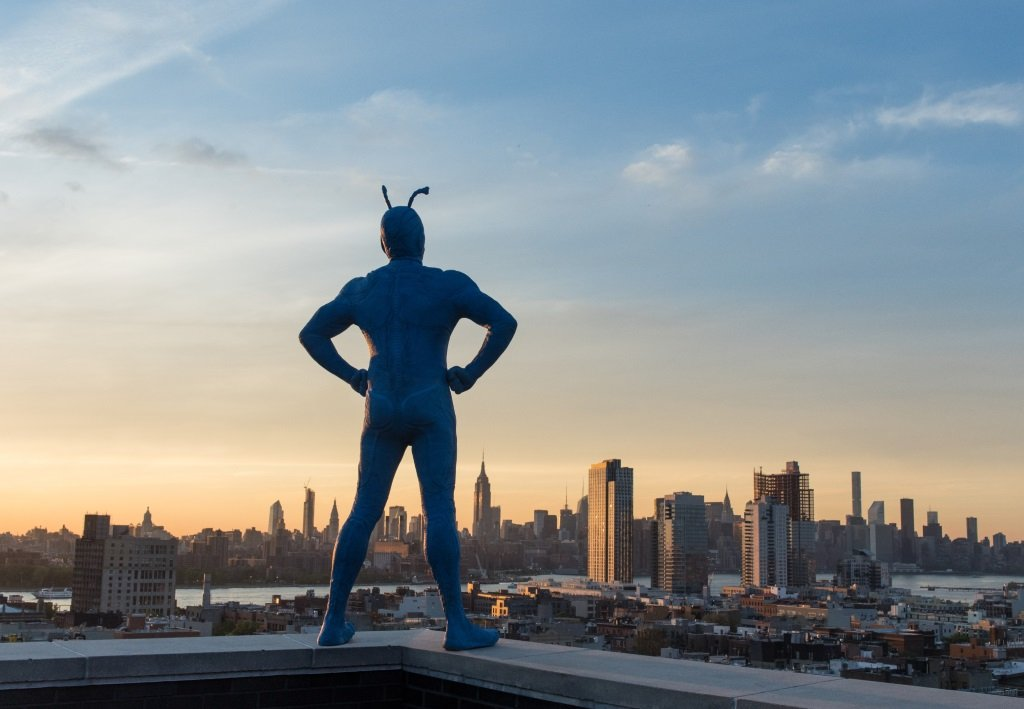 "Peter Serafinowicz is ""The Tick"" in the superhero comedy series."