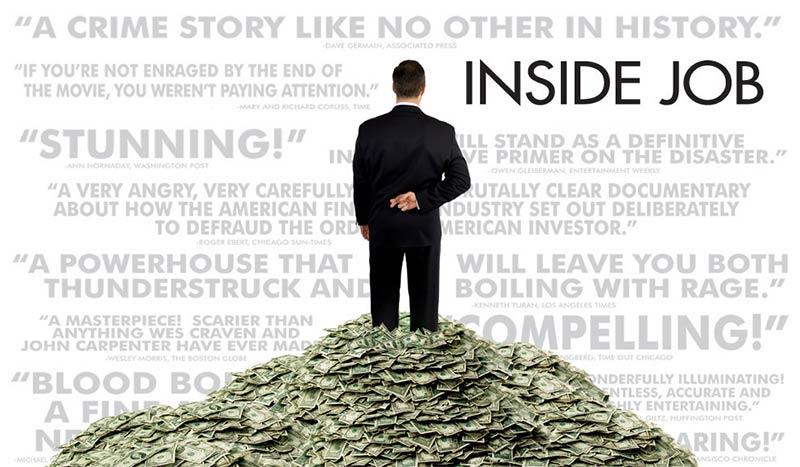 Charles Ferguson's Academy Award-winning documentary on the 2008 financial crisis