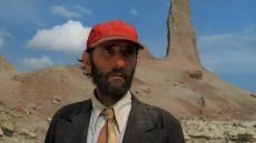Harry Dean Stanton in the film by Wim Wenders
