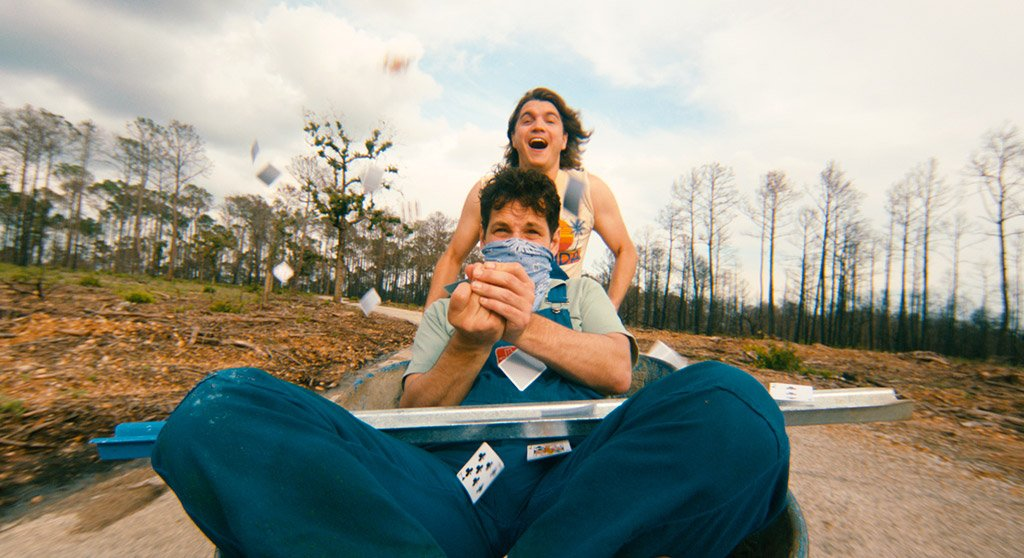 Paul Rudd and Emile Hirsch star in the film by David Gordon Green