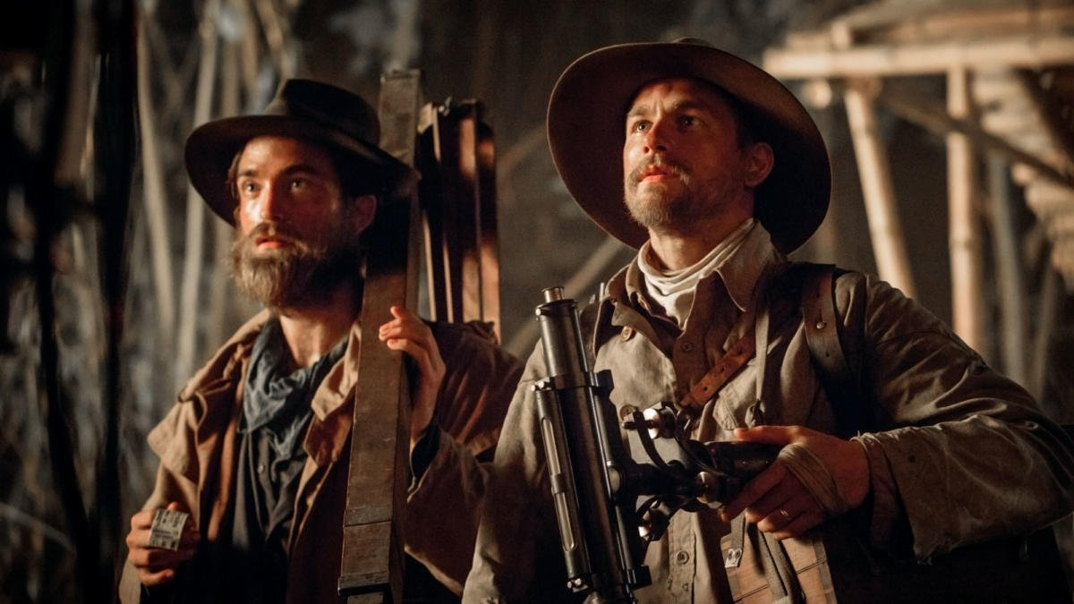 Robert Pattinson and Charlie Hunnam star in the historical adventure from James Gray.