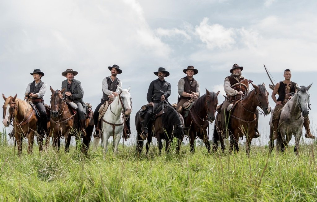 Denzel Washington and Chris Pratt lead the western remake
