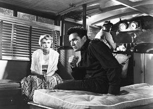 Patricia Neal, John Garfield, and Juano Hernandez in a film by Michael Curtiz