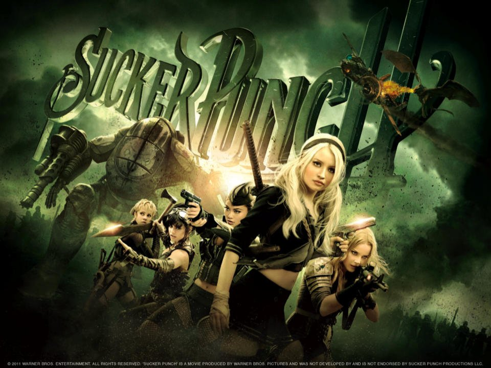 Emily Browning, Abbie Cornish, Jena Malone, Vanessa Hudgens, Jamie Chung, Carla Gugino, and Oscar Isaac star in Zach Snyder's incoherent fantasy