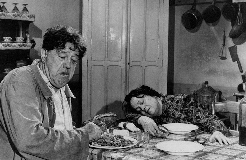 Michel Simon and Germaine Reuver in the French film classic from Sacha Guitry
