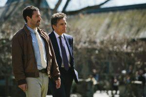 Adam Sandler and Ben Stiller in the film by Noah Baumbach