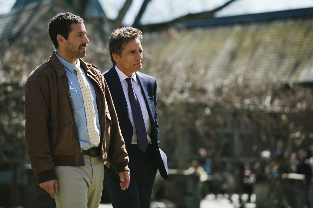 Adam Sandler and Ben Stiller in the film by Noah Baumbach