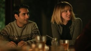 Kumail Nanjiani and Zoe Kazan star in the true story of how its writers, writers Nanjiani and Emily V. Gordon, met and married