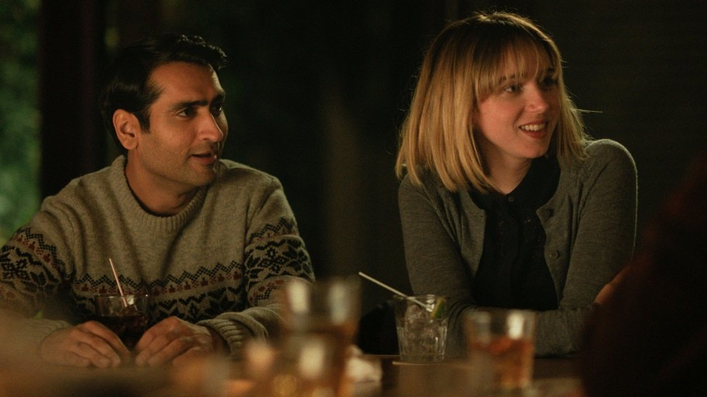 Kumail Nanjiani and Zoe Kazan star in the true story of how its writers, writers Nanjiani and Emily V. Gordon, met and married