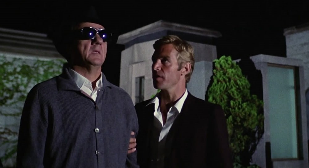 Karl Malden and James Franciscus in the giallo by Dario Argento