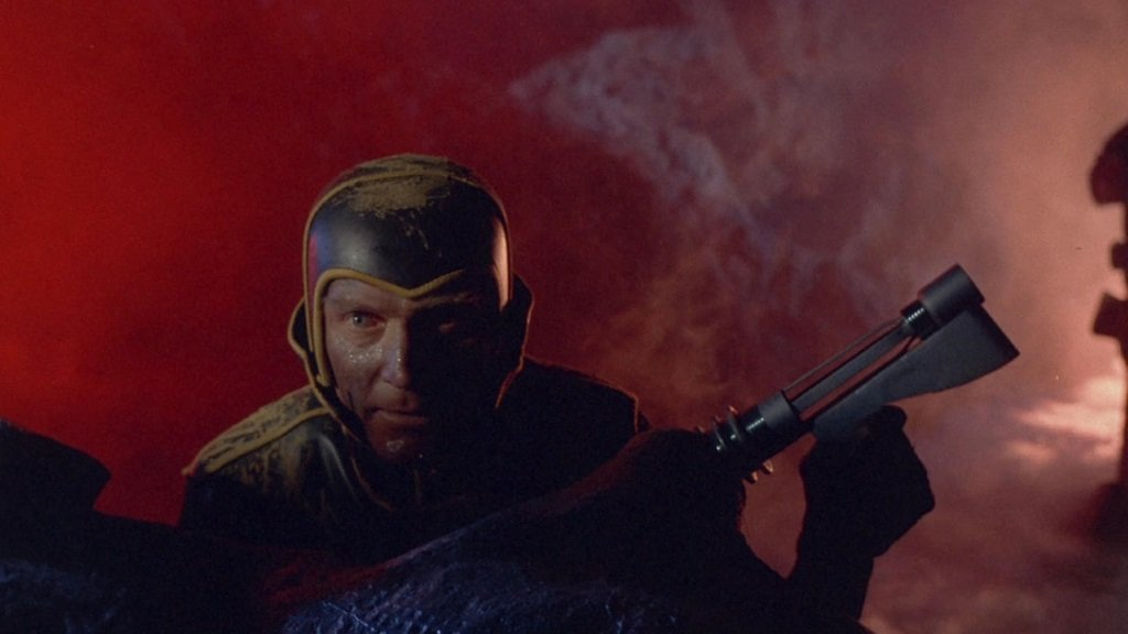 Barry Sullivan stars in Mario Bava's Italian sci-fi horror cult film