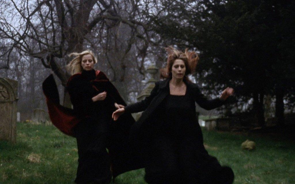 Marianne Morris and Anulka star in the Erotica horror film from Joseph Larraz